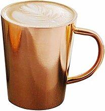 Tasse Kaffeetasse Edelstahl Kaffeetasse