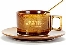Tasse Kaffeetasse Outdoor-Reisebecher Europe Bone