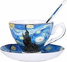 Tasse Kaffeetasse Outdoor-Reisebecher Van Gogh