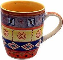 Tasse Kaffeetasse Teetasse Geschirr Keramik Bemalt