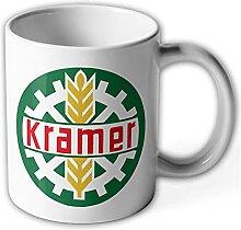 Tasse Kramer Traktor Werk Schlepper Emblem