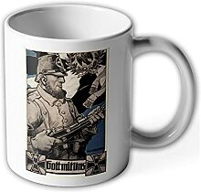 Tasse Landwehr 1914 Preußen Landsturm Soldat