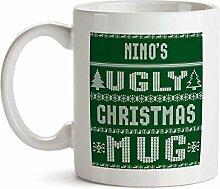 "Tasse mit Aufschrift ""Ugly Christmas Sweater"""