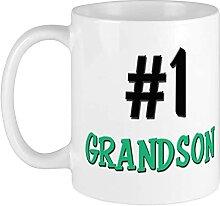 Tasse mit der Nummer 1 Enkelsohn,