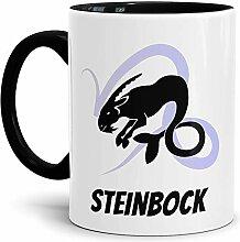 Tasse mit Design Sternzeichen Steinbock Farbtasse
