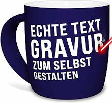 Tasse mit Gravur selbst gestalten - mit eigenem