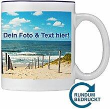 Tasse mit individuellem Foto gestalten