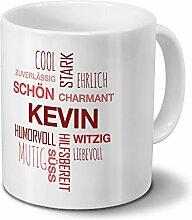 Tasse mit Namen Kevin Positive Eigenschaften