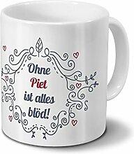 Tasse mit Namen Piet - Motiv Ohne Piet ist alles