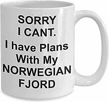 Tasse mit Norwegischem Fjord-Pferd und