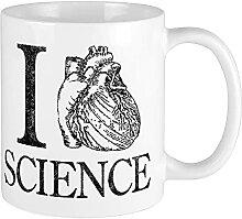 Tasse mit Periodensystem der Elemente,