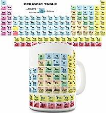 Tasse, mit Periodensystem der Elemente, tolle Geschenkidee für Chemie-Studenten, spülmaschinenfes