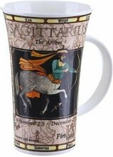 Tasse mit Schützen-Motiv von Dunoon, Glencoe