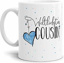 Tasse mit Spruch für den Weltbesten Cousin -