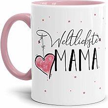 Tasse mit Spruch für die Weltliebste Mama -