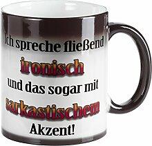 Tasse mit Spruch – Ich spreche fließend