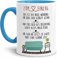 Tasse mit Spruch Zum Einzug in die Neue Wohnung -