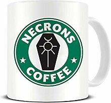 "Tasse, Motiv ""Necrons Coffee"" –"