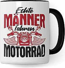Tasse Motorrad Geschenke für Männer - Echte