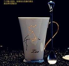 Tasse Mug Geschenk Kreativ 12 Sternbilder Weiß