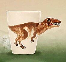 Tasse Mug Geschenk Kreativ 3D Painted Dinosaurier