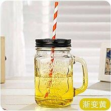 Tasse Mug Geschenk Kreativ 450Ml Einmachglasbecher