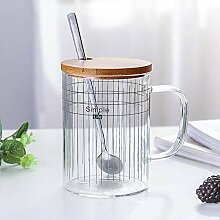Tasse Mug Geschenk Kreativ Simple Line Glas