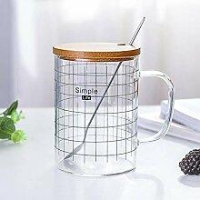 Tasse Mug Geschenk Kreativ Simple Line Kaffeetasse