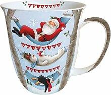 Tasse Mug Relaxing Christmas Inhalt 0,4 ltr. Höhe