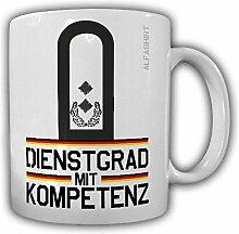 Tasse Oberstleutnant Dienstgrad Bundeswehr Oberslt Militär Rangabzeichen Abzeichen Schulterklappe Kaffee Becher #20717