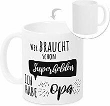 Tasse Opa Spruch lustig - Kaffeebecher als