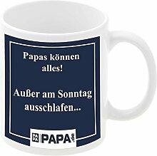 Tasse - Papas können alles: bedruckte Kaffeetasse