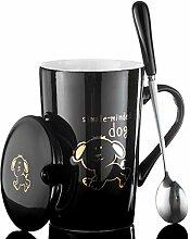 Tasse Porzellan Kaffeetasse 420Ml Keramikbecher