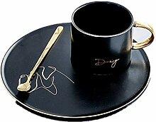 Tasse Porzellan Kaffeetasse Europäische Keramik