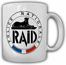Tasse RAID Police nationale Recherche Assistance