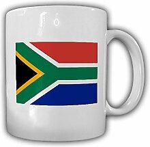 Tasse Republik Südafrika Fahne Flagge Kaffee Becher #13921