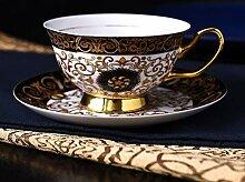 Tasse Schwarzer Tee,Bone China Kaffeetasse