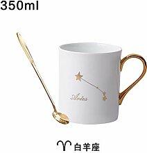 Tasse Set Keramik dunkel Kaffee Tee Wasser Tasse