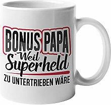 Tasse Stiefvater, Bonus Papa Kaffeetasse Geschenk