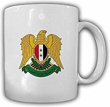 Tasse Syrien Wappen Emblem Arabische Republik Kaffee Becher #13933