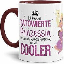 Tasse Tätowierte Prinzessin - Blond -