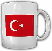 Tasse Türkei Fahne Flagge Kaffee Becher #13954