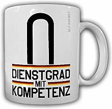 Tasse Unteroffizier Dienstgrad Bundeswehr Dienstgrad Schulterklappe Abzeichen Kaffee Becher #20657
