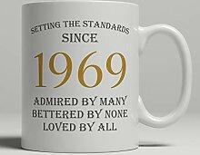 Tasse zum 50. Geburtstag, Geschenkidee zum 50.