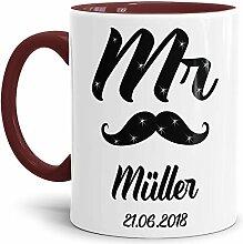 Tasse zur Hochzeit für den Mr. #1 /