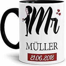 Tasse zur Hochzeit für den Mr. #2 /