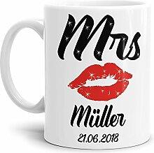 Tasse zur Hochzeit für die Mrs. #1 /
