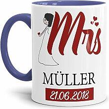 Tasse zur Hochzeit für die Mrs. #2 /