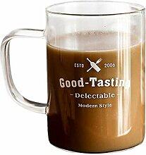 Tassen 400Ml Tee Kaffeebecher Schwarz Weiß Guten