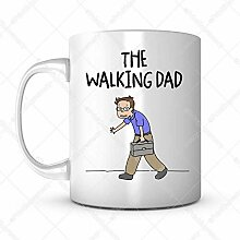 Tassen-Geschenkidee für Papa Vatertag zum Gehen -